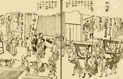 江戸時代セピア