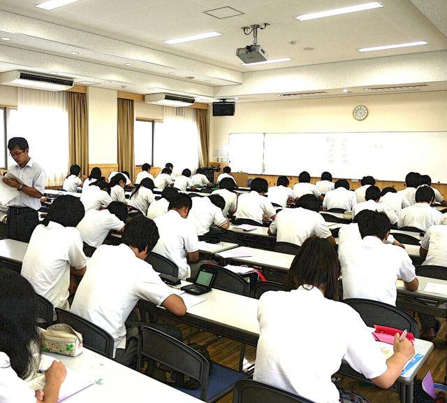 明石清水高等学校校内画像